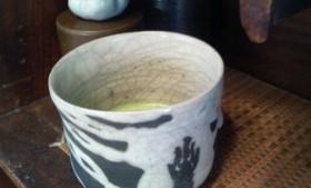 朝の一服 金理有@大阪 ヴィヴィアンタム コラボ茶碗